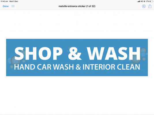 Shop and Wash Melville Plaza